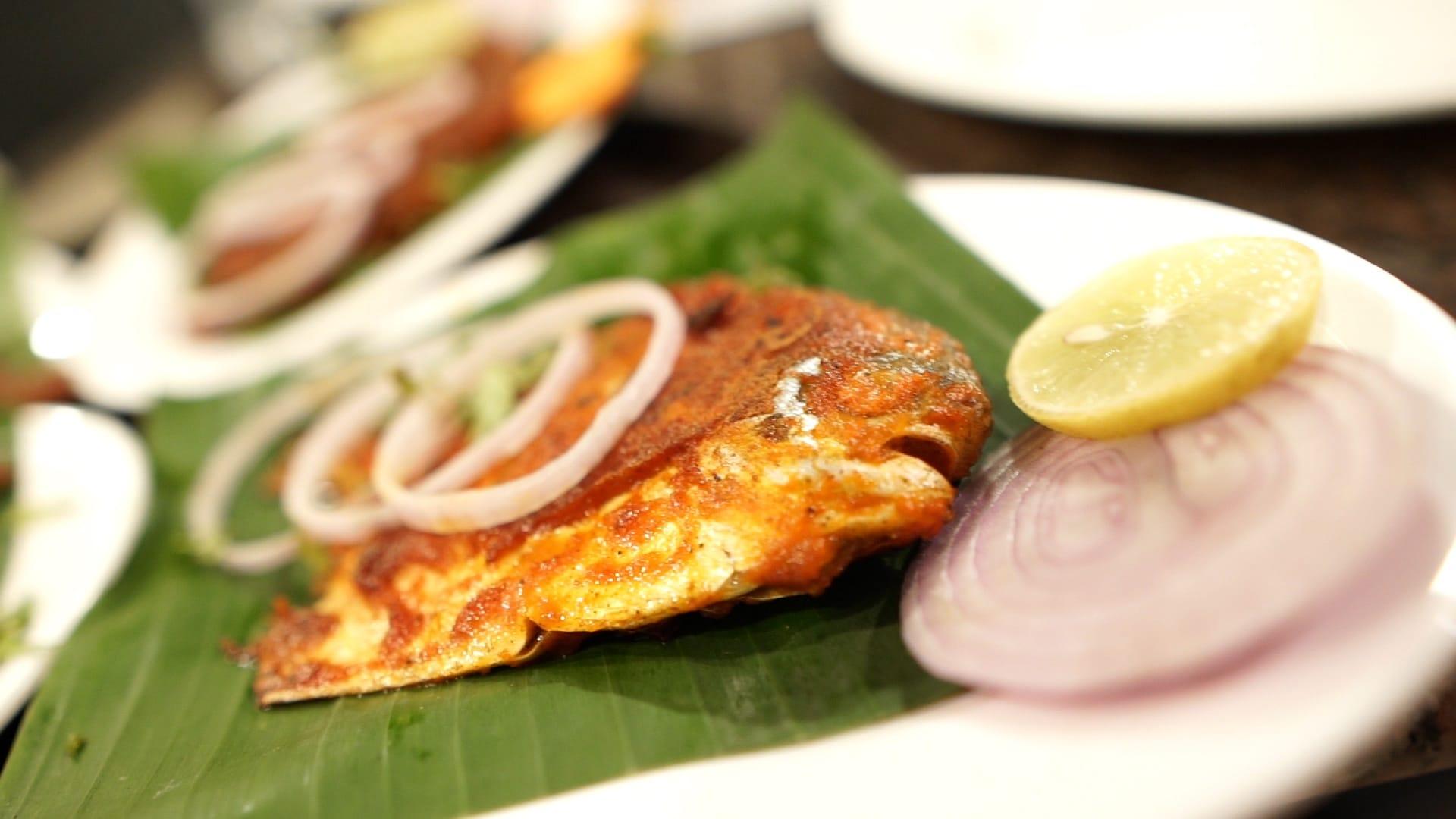 Fresh fish Fry in Malpe