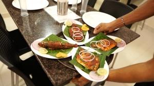Seafood restaurant in Malpe Beach