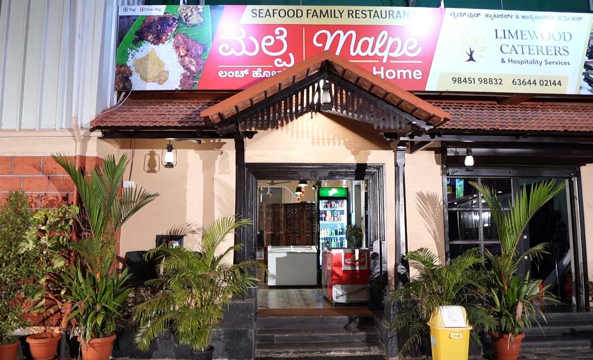Malpe Lunch Home, Malpe Restaurants