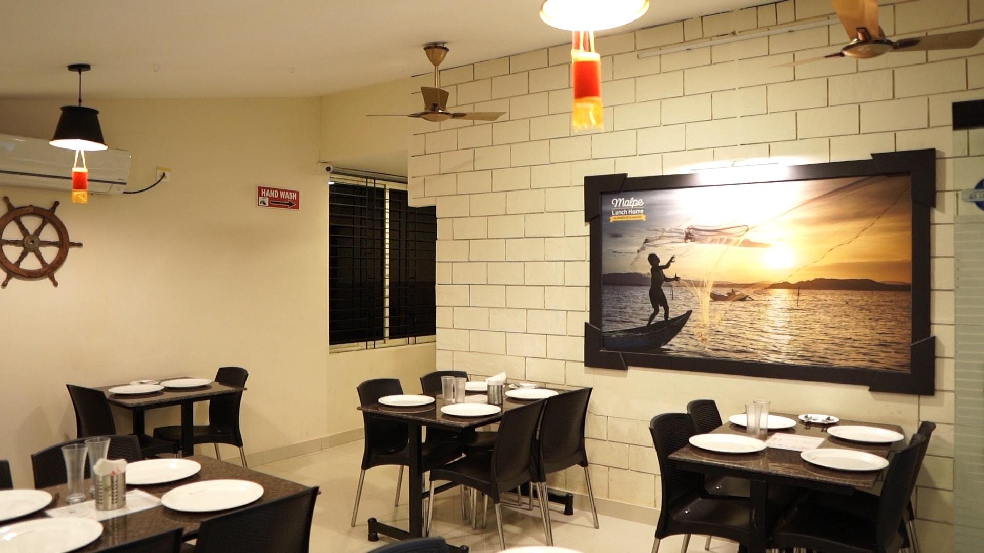 good ambience restaurants in malpe